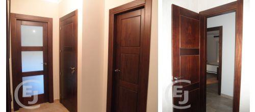 Carpinteria esther y jorge carpinteria de madera y pvc - Puertas color pino ...