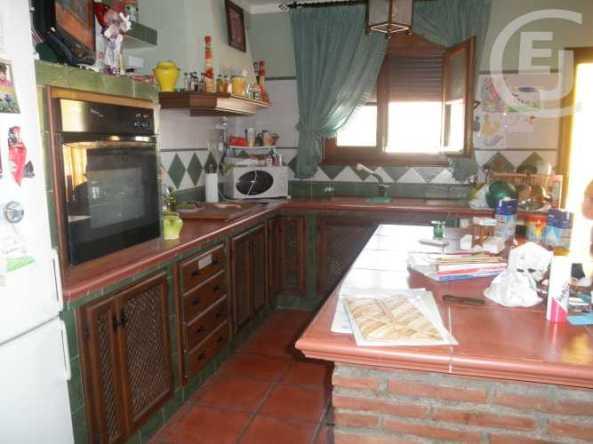 cocina rustica ventana pvc